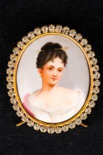 19th C Portrait Miniature