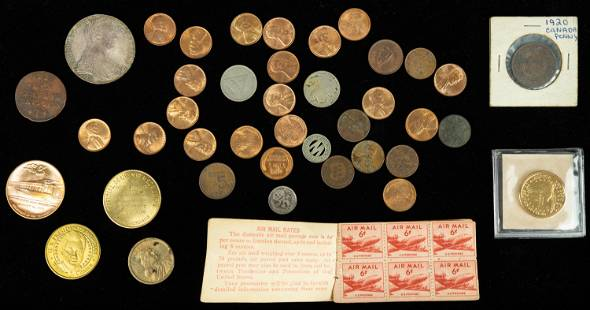 Vintage Coins and Stamps