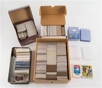 Mostly Newer Various Baseball Cards w/ Inserts