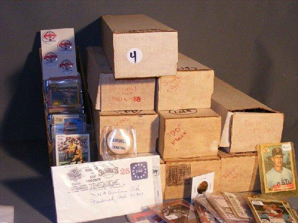 4: Collectible baseball cards