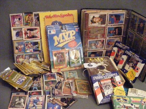 6: Baseball collectibles