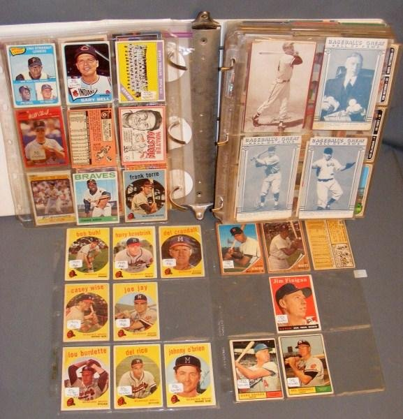 7: Baseball cards