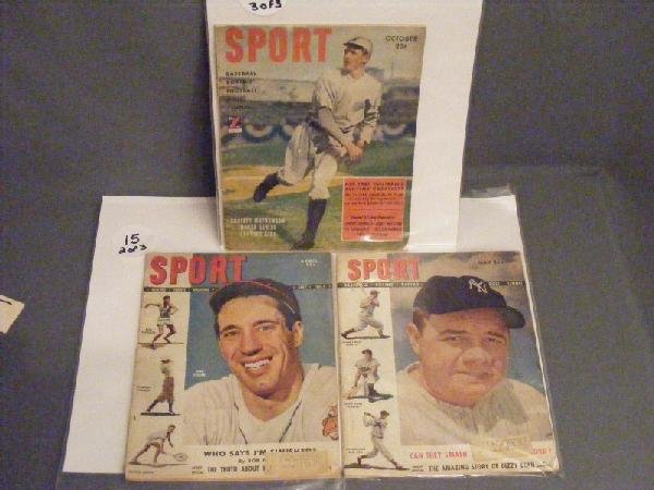 15: Sports Magazines