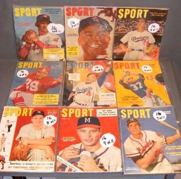 16: Sports Magazines