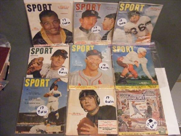 17: Sports Magazines