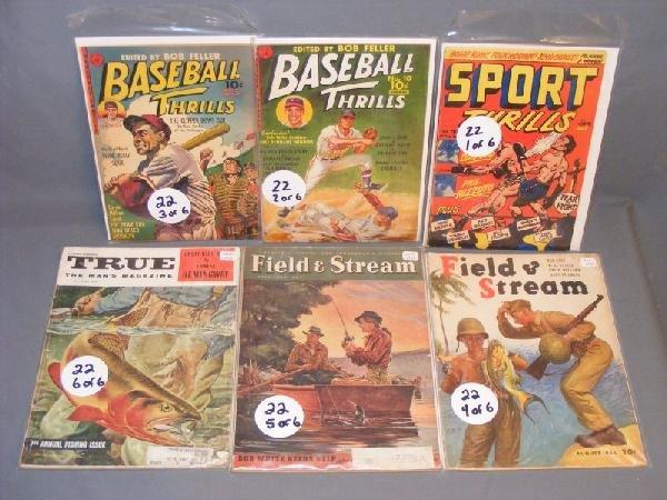 22: Baseball comic books