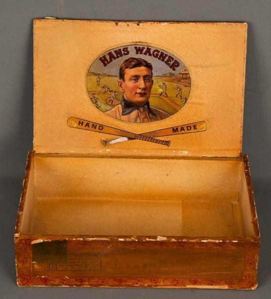 "49: Honus  ""Hans"" Wagner Tobacco Box"