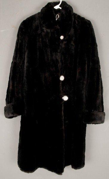1: Vintage Clothing- seal fur coat