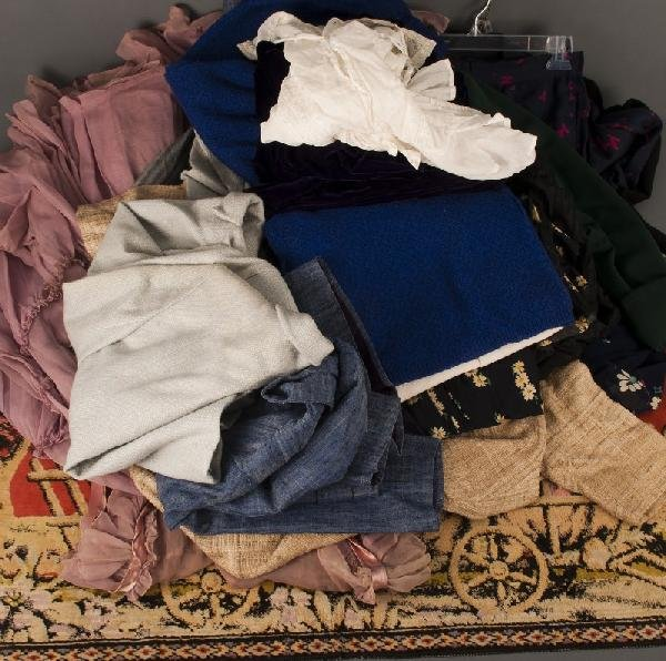 2: Vintage Clothing-grouping of vintage; 1950s