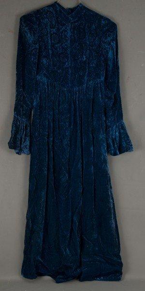 4: Vintage Clothing-1920s velvet cape