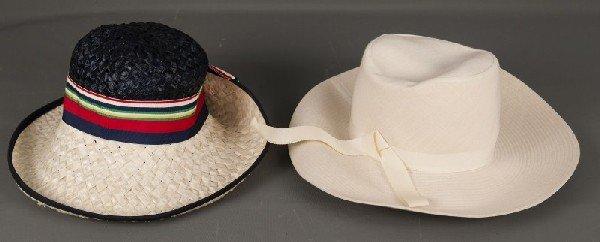 19: Vintage Hat-Mr. John Jr vitnage hat with another