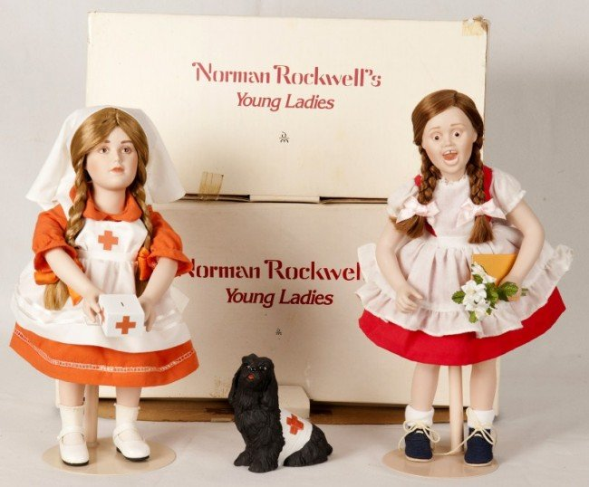 11: Norman Rockwell Dolls