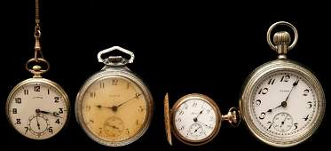 1029 Four pocket watches