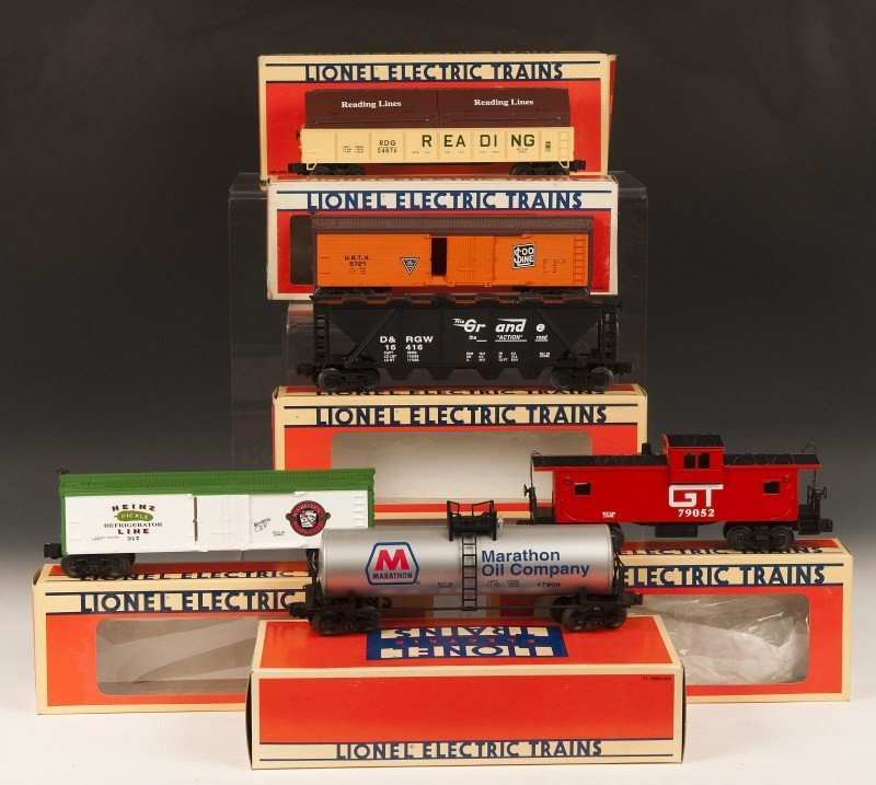 5: Lionel Multiple Car Lot of 7