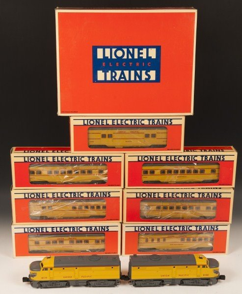 8: Lionel Union Pacific Engine and Cars