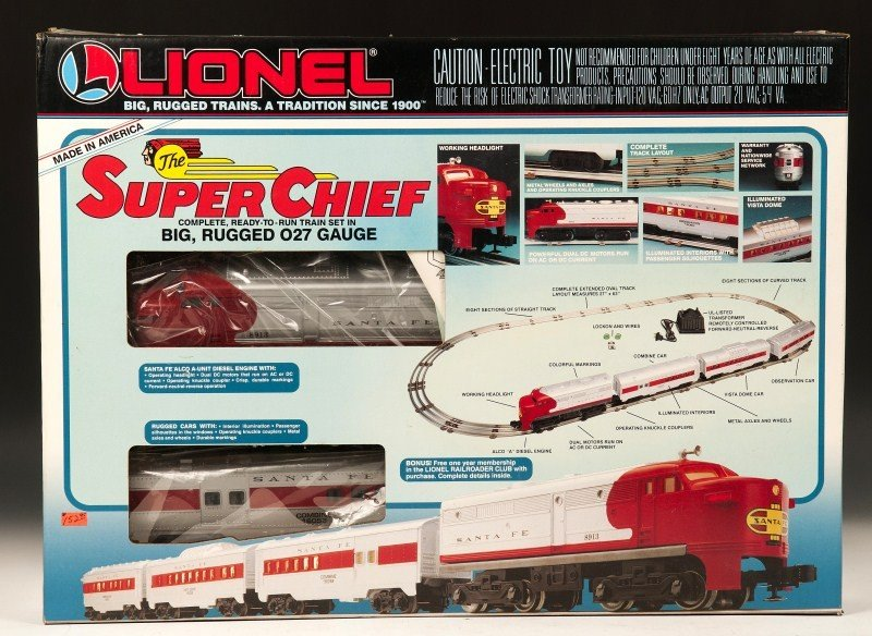 11: Lionel Super Chief