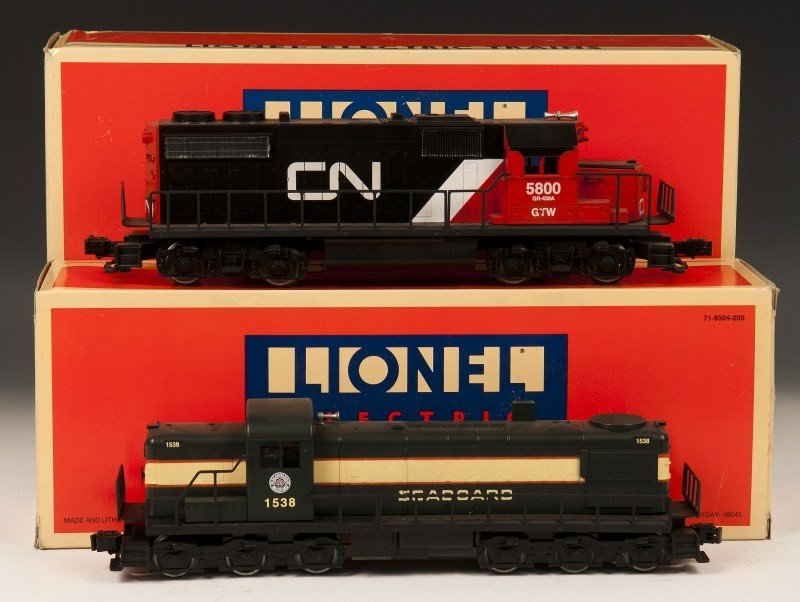 16: Lionel Diesel Engines