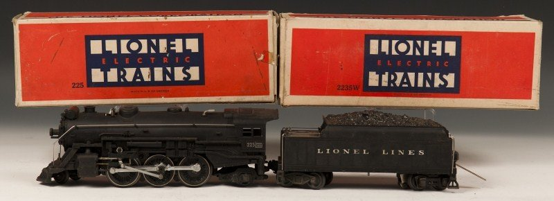 23: Lionel Locomotive and Tender
