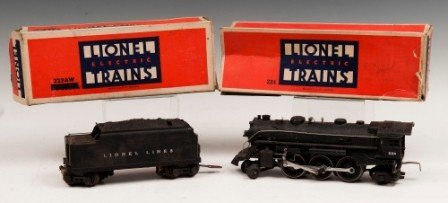 1: Lionel Locomotive 224