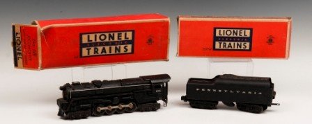 3: Lionel Locomotive 681