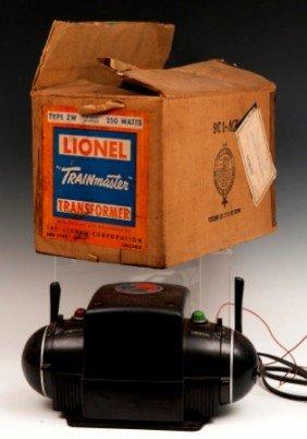 """6: Lionel """"Trainmaster"""" Transformer"""