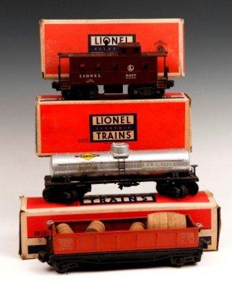 8: Lionel Train Cars