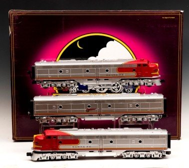 17: M-T-H Electric Train  Set