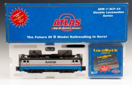 22: Atlas Locomotive Train