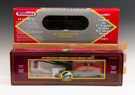 24: MTH Freight Car, Williams Locomotive