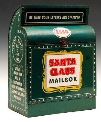 366: Esso Santa Claus Mail Box, Ca 1950