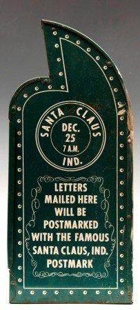 366: Esso Santa Claus Mail Box, Ca 1950 - 2