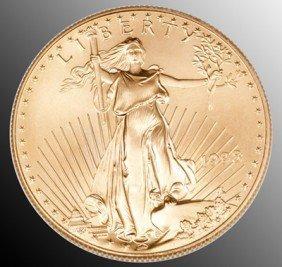 655: Gold Bullion, $50 One Ounce Gold Piece