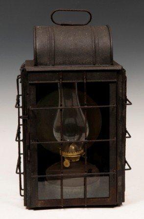 1: 19th Century Porch Oil Lantern