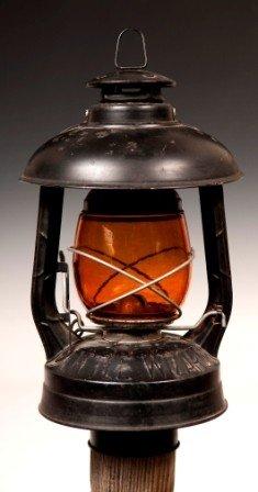 2: Dietz Little Wizard Factory Post Lamp