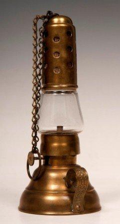 4: Brass Hurricane Lantern