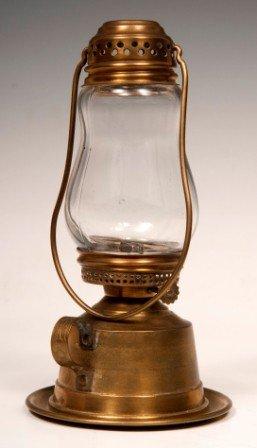 5: 19th C. Skaters Lamp