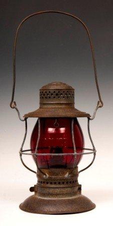 Tin Kerosene Police Lantern