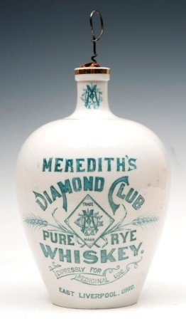 277: Meredith's Diamond Club Pure Rye Whiskey Jug