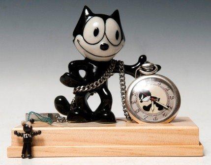 717: Felix the cat Pocket Watch