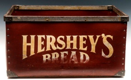 828: J.S. Hershey Baking Co. Bread Bin