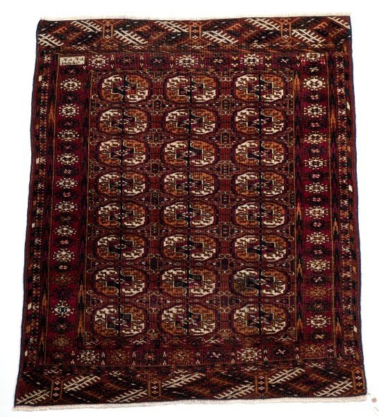 11: Antique Turkish Carpet