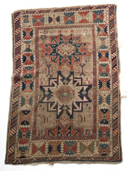 17: Antique Caucasian Carpet