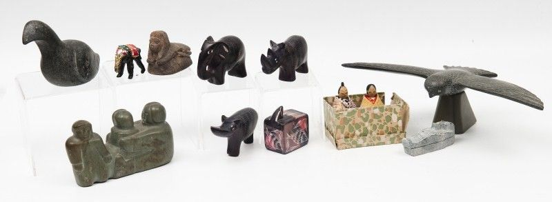Eskimo and Asian Carvings