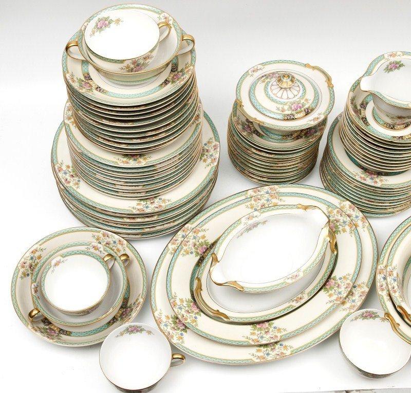 462: Noritake Cyrano Porcelain Dinnerware - 2