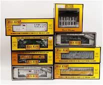 583 Seven MTH Rail King Cars