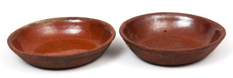 15: Redware Bowls