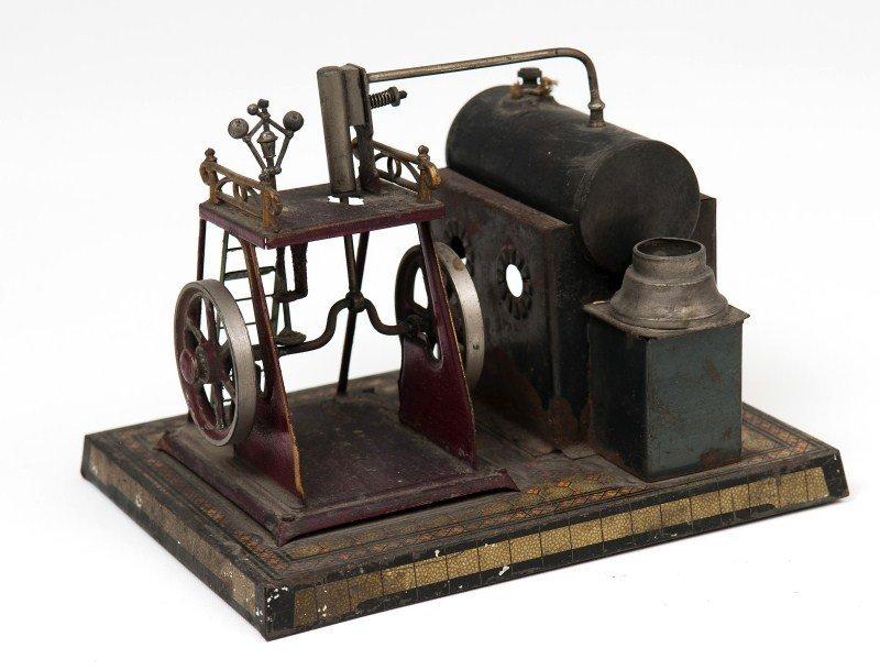 16: Tin Model Steam Engine