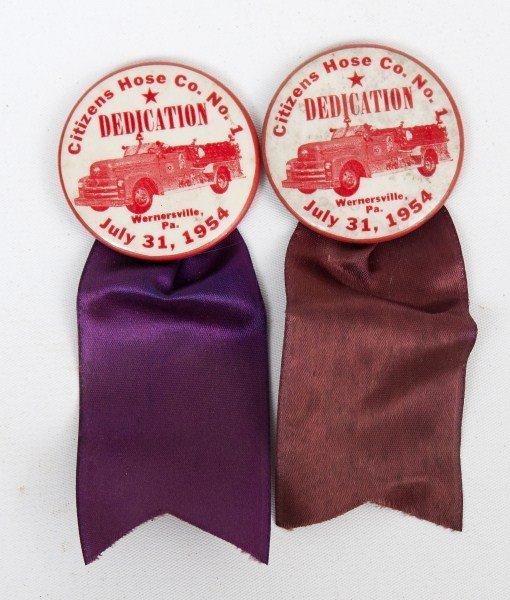 17: Fireman's Dedication Ribbons