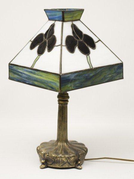 80: Tiffany Style Lamp