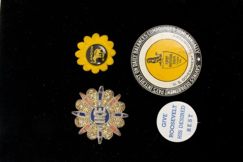 85: Political Pins